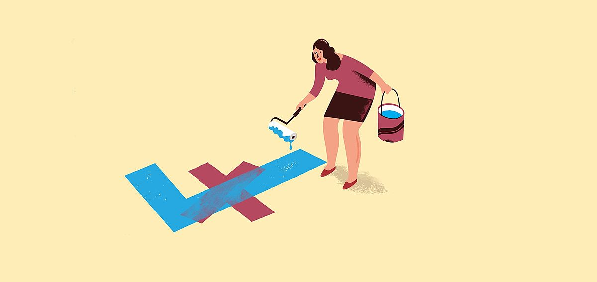 illustration-of-a-woman-drawing-a-tick-over-a-cross_suzanne-biegel_the-financial-feminist_large-crop.jpg